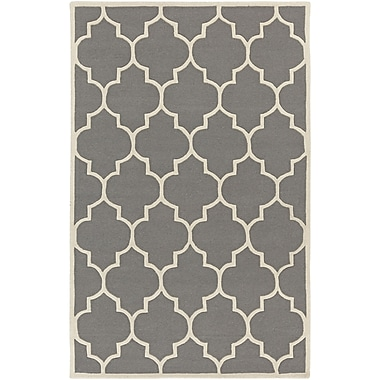 Artistic Weavers Transit Charcoal Geometric Piper Area Rug; Runner 2'3'' x 14'