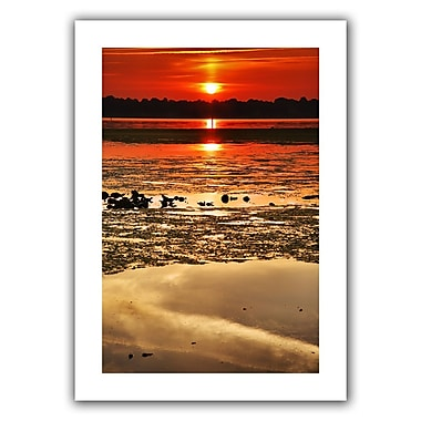 ArtWall Breaking Dawn' by Steven Ainsworth Photographic Print on Rolled Canvas; 22'' H x 16'' W