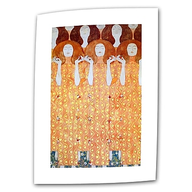 ArtWall Angel Brides by Gustav Klimt Painting Print on Rolled Canvas; 30'' H x 18'' W