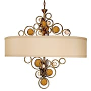 Van Teal Free Wheeling Wheels Of Flare 6-Light Drum Chandelier