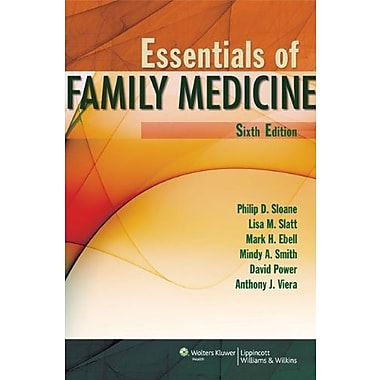 Essentials of Family Medicine (Sloane, Essentials of Family Medicine), New Book (9781608316557)