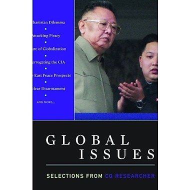 Global Issues: Selections from CQ Researcher, 2011 Edition, New Book (9781608718283)