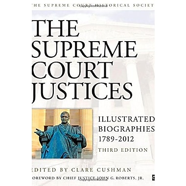 Supreme Court Justices: Illustrated Biographies, New Book (9781608718320)