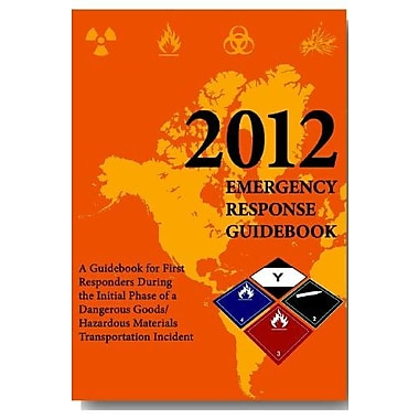 2012 Emergency Response Guidebook (ERG): Pocket Edition, New Book (9781610991193)