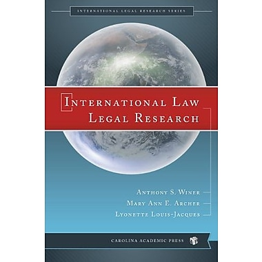 International Law Legal Research, New Book (9781611630688)
