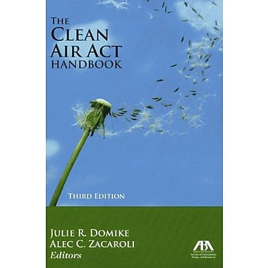 The Clean Air Act Handbook, Used Book (9781614380351)