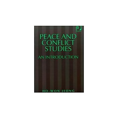 Peace and Conflict Studies: An Introduction (Studies in Peace and Conflict Research), New (9781840140989)