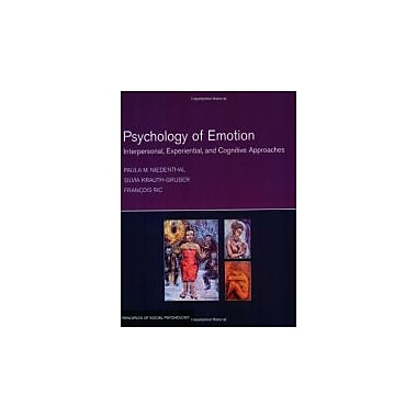 Psychology of Emotion: Interpersonal, Experiential, and Cognitive Approaches, New (9781841694023)