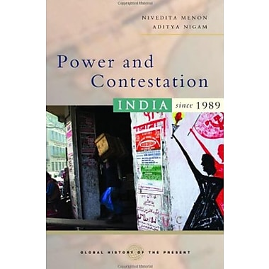 Power and Contestation: India since 1989 (Global History of the Present), New Book (9781842778159)