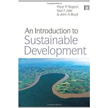 An Introduction to Sustainable Development, New Book (9781844075201)