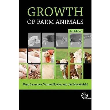 Growth of Farm Animals, New Book (9781845935580)