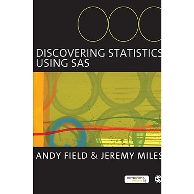 Discovering Statistics Using SAS, New Book (9781849200929)