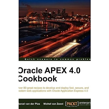 Oracle Apex 4.0 Cookbook, New Book (9781849681346)