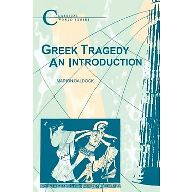 Greek Tragedy (Classical World), New Book (9781853991196)