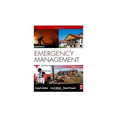 Introduction to Emergency Management, Fourth Edition, New Book (9781856179591)