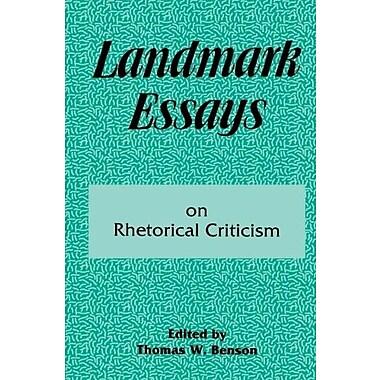 Landmark Essays on Rhetorical Criticism: Volume 5 (Landmark Essays Series), Used Book (9781880393086)