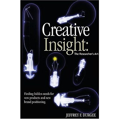 Creative Insight: the Researcher's Art, New Book (9781887229265)