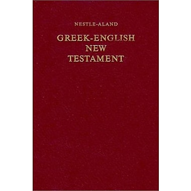 Greek-English New Testament, Used Book (9783438054081)