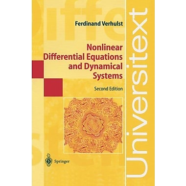Nonlinear Differential Equations and Dynamical Systems (Universitext), New Book (9783540609346)