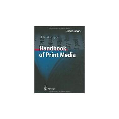 Handbook of Print Media, New Book (9783540673262)