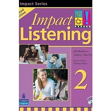 Impact Listening 2 Student Book with Self-Study, 2nd Edition, New Book (9789620058028)