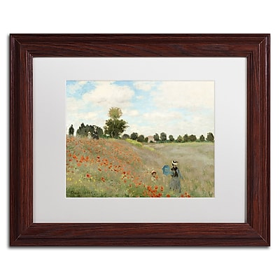 Trademark Fine Art BL0082-W1114MF