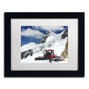 "Trademark Fine Art PSL0325-B1114MF ""Top of Switzerland"" by Philippe Sainte-Laudy 11"" x 14"" Framed Art, White Matted"