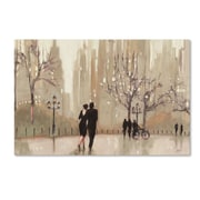 "Trademark Fine Art WAP0111-C-GG ""An Evening Out Neutral"" by Julia Purinton Frameless Art"