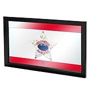 """Trademark Global VAF VAF1500-HR 15"""" x 27"""" Framed Logo Mirror, Stuckeys Snack Bar"""