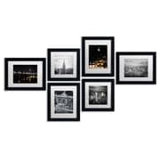 Trademark Fine Art TFA-URB1-MF Urban Gallery Wall Collection, 6/Set