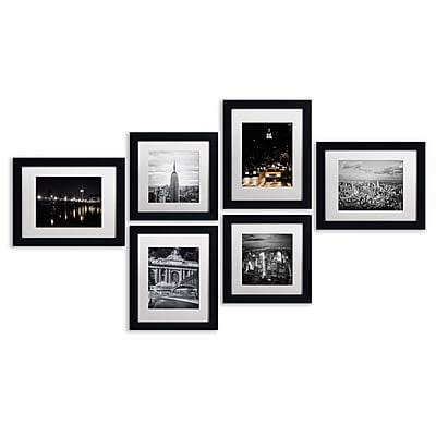 Trademark Fine Art TFA-URB1-MF Urban Gallery Wall Collection, 6/Set