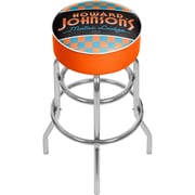 Trademark Global Howard Johnson AR1000-HOJO Padded Swivel Bar Stool