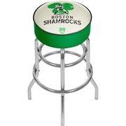 Trademark Global VAF VAF1000 Steel Padded Swivel Bar Stool