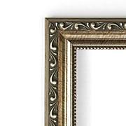 "Amanti Art Parisian DSW1290278 Wall Mirror 23.88""H x 29.88""W, Silver"