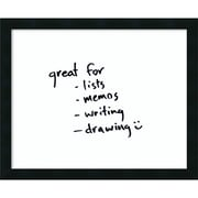 Amanti Art Mezzanotte Glass Dry-Erase Board