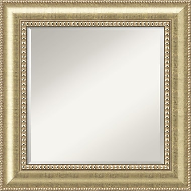 Amanti Art Astoria DSW1290258 Wall Mirror 26.75 x 26.75W,Beige