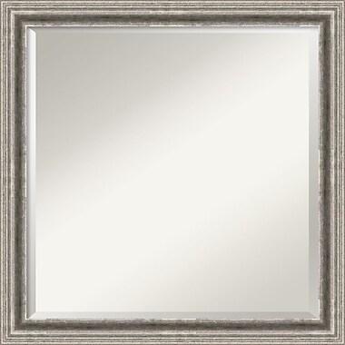 Amanti Art Bel Volto DSW1290259Wall Mirror 22.88 x 22.88W,Silver