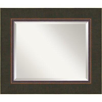 """Amanti Art Milano DSW1346416Wall Mirror 22.5""""H x 26.50""""W, Bronze"""