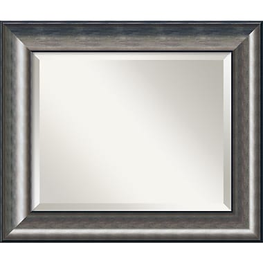 Amanti Art Quicksilver Wall Mirror, 21.75