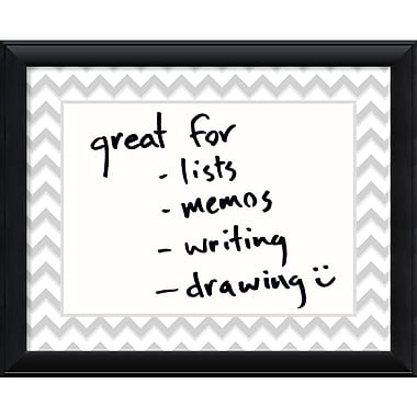 Amanti Art Chevron Message Dry-Erase Board (DSW1355995)