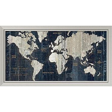 Amanti Art 'Old World' Framed Art Print