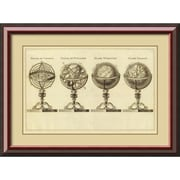 Amanti Art 'Spheres at Globes, 1791' Framed Art Print