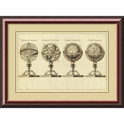 Amanti Art 'Spheres at Globes, 1791' Framed Art Print
