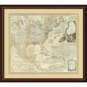 Amanti Art 'Composite: North America, 1776' Framed Art Print
