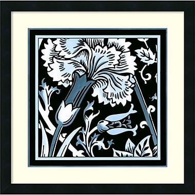 Amanti Art Floral Motif II Framed Art Print by Vision Studio, 22