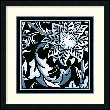 Amanti Art ? Impression encadrée « Floral pop VIII » par Vision Studio, 22 haut. x 22 larg. (po) (DSW987910)