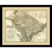 Amanti Art 'Plan of the City of Washington, 1795' Framed Art Print