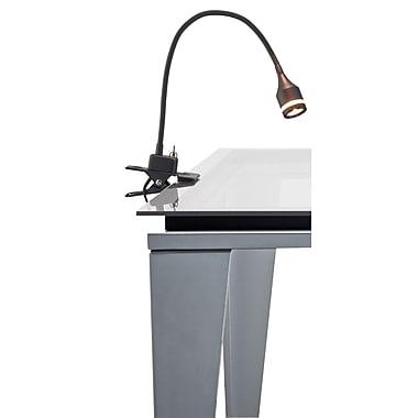 Adesso 3217-01 Prospect LED Table Clip Lamp, Black
