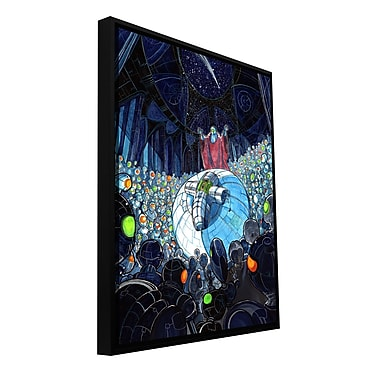 ArtWall 'Cradle' by Luis Peres Framed Graphic Art on Wrapped Canvas; 18'' H x 14'' W