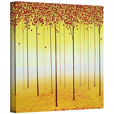 ArtWall 'Forest Memories' by Herb Dickinson Painting Print on Wrapped Canvas; 14'' H x 14'' W